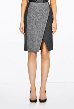 great skirt. wear with a silk long sleeve, not a button up. corporate fashion. CORMONY.
