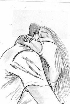 Risultati immagini per dibujos a lapiz de amor 3d Pencil Drawings, Art Drawings Sketches, Easy Drawings, Art Amour, Sketches Of Love, Sketches Of Couples, Love Sketch, Cute Couple Drawings, Couple Art