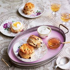 Try this delightful Aperol Sultana Scone recipe by Eric Lanlard for your next High Tea. Sultana Scone Recipe, Eric Lanlard, Plain Cookies, Golden Raisins, Menu Items, High Tea, Recipe Collection, Tray Bakes