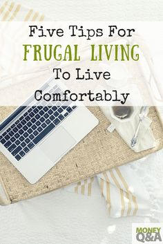 Here are five tips on living a frugal life, frugal living, and pinching the most amount of pennies possible. You can save quite a bit of money, enjoy frugal living, and still live a comfortable life. Ways To Save Money, Money Tips, Money Saving Tips, How To Make Money, Frugal Living Tips, Frugal Tips, Enjoy Your Life, Debt Payoff, Pennies