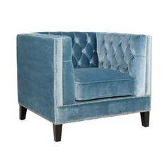 Antonia Velvet Arm Chair