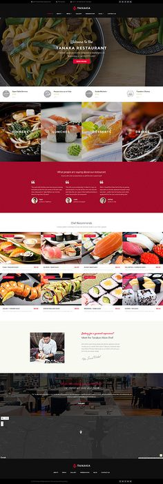 More than website templates available! Choose your theme and build a professional looking site today! Restaurant Website Design, Restaurant Themes, Restaurant Branding, Website Design Layout, Web Design, Website Designs, Graphic Design, Blog Design, Wordpress Template
