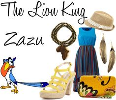 """Zazu"" by disneykid95 ❤ liked on Polyvore"