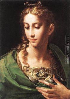 Pallas Athene c. 1539 Girolamo Francesco Maria Mazzola (Parmigianino) Reproduction   1st Art Gallery