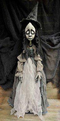 OOAK Gothic art dolls