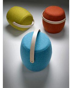 ansuner创意设计师家具 carry on pouf/进行圆墩 小圆矮板沙发凳-淘宝网