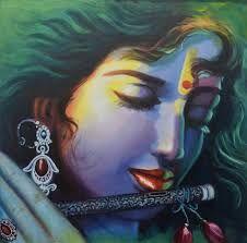 lord Krishna with flute Señor Krishna, Lord Krishna Images, Krishna Leela, Radha Krishna Pictures, Radhe Krishna Wallpapers, Lord Krishna Wallpapers, Krishna Painting, Buddha Painting, Krishna Drawing