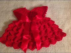 Best 12 flower girl dress summer dress gift by TinasHandicraftGr on Etsy – SkillOfKing. Crochet Toddler, Baby Girl Crochet, Crochet Baby Clothes, Crochet For Kids, Baby Dress Clothes, Baby Girl Dresses, Diy Crafts Dress, Kids Knitting Patterns, Crochet Baby Dress Pattern