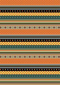 FREE printable Halloween scrapbook paper stripes