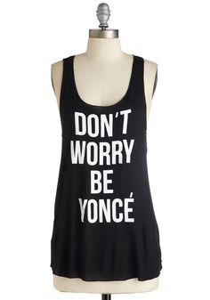 Just Bey Yourself Tank
