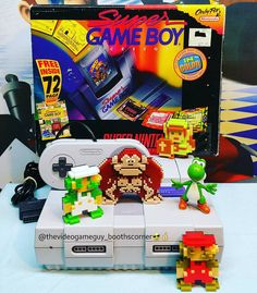 On instagram by thevideogameguy_boothscorner #gameboy #microhobbit (o) http://ift.tt/1kPHmZK we'd stick with our Super Nintendo theme and show some Super Gameboy love this afternoon!  What a great idea Nintendo had.... giving gamers the ability to play their Gameboy games on the SNES (and in color)! Who remembers the first time they saw their favorite Gameboy game on the big screen? The Super Gameboy was released in NA in June 1994 and sold for $59.99.  Enjoy…