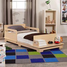 KidKraft Modern Toddler Bed - Standard Toddler Beds at Toddler Beds