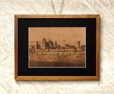 Wall Decor Brown Post Card Reproduction 02  by RetroPhotographyArt