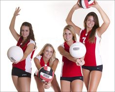 Different positions ot take a volleyball picture in Volleyball Training, Volleyball Team Pictures, Volleyball Poses, Female Volleyball Players, Volleyball Mom, Volleyball Shirts, Coaching Volleyball, Volleyball Setter, Softball Pictures