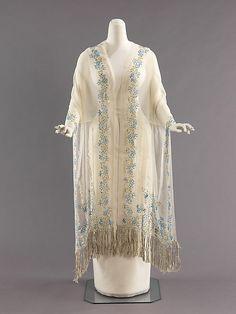 Liberty of London silk evening stole 1900-1910.