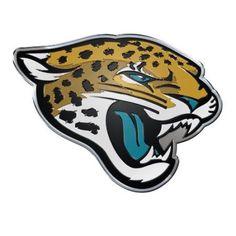 Jacksonville Jaguars Official NFL Auto Emblem by Team Promark 634143, Multicolor