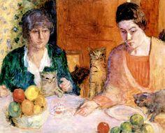 The Cat's Lunch / Pierre Bonnard - circa 1906