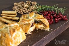 Baked Brie in Puff Pastry :: Home Cooking Adventure
