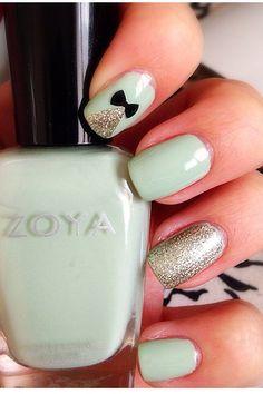 Zoya nail polish design