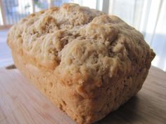 Basic Beer bread.  herbs and cheese can be added to jazz it up