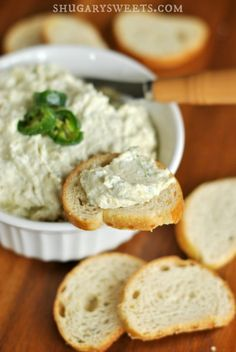 This spicy and savory Artichoke Jalapeño Dip will go great with STACY'S Bagel Chips!