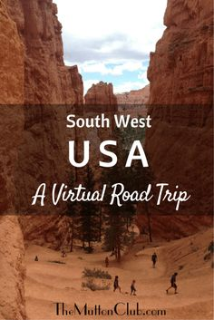Take a South West USA road trip and marvel at the sheer scale of the Grand Canyon, Bryce Canyon, Zion National Park and Yosemite.