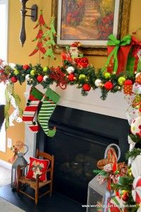 Ideas para decorar chimeneas en navidad | Curso de organizacion de hogar aprenda a ser organizado en poco tiempo