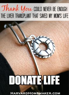 Thank You Could Never Be Enough - The Liver Transplant that Saved My Mom's Life by Harvard Homemaker
