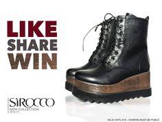 Διαγωνισμός SIROCCO με δώρο ένα ζευγάρι γυναικεία μποτάκια - https://www.saveandwin.gr/diagonismoi-sw/diagonismos-sirocco-me-doro/