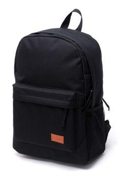 Easy Durable Textured Schoolbag - OASAP.com