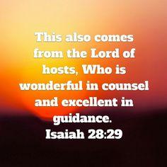 Isaiah 28:29