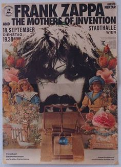 Frank Zappa & Mothers Of Invention - 1973/09/18 concert 'stadthalle', wien, austria. (concert got cancelled)