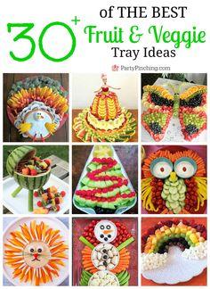 ideas fruit appetizers for kids veggie tray for 2019 Fruit Appetizers, Fruit Snacks, Owl Snacks, Shower Appetizers, Fruit Recipes, Vegan Recipes, Fruit Party, Fun Fruit, Summer Fruit