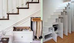 Image result for under stair storage ideas