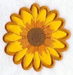 Sunflower (Applique)