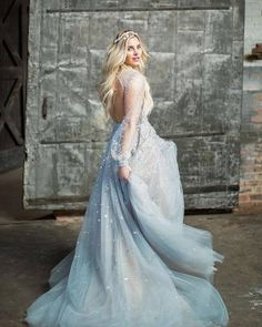 Lumin Gown by Hayley Paige <3