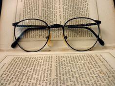 vintage wire rim eyeglass frames dark brown by TrunkGypsies Cute Glasses, New Glasses, Glasses Frames, Glasses Online, Lunette Style, Fashion Eye Glasses, Four Eyes, Eyewear, Bling