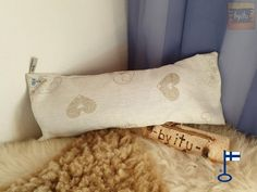 Samuli-saunatyynyn päällinen Sydän n. cm - by itu - Itu, Throw Pillows, Design, Toss Pillows, Cushions, Decorative Pillows, Decor Pillows, Scatter Cushions