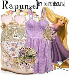 Disney Bound Rapunzel @ a Picnic