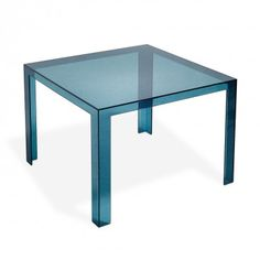 Kartell Teal Invisible Dining Table