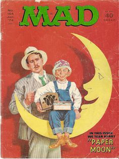 mad magazine january 1974 cover by CapricornOneVintage, via Flickr