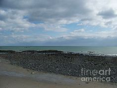 New Hampshire Along North Beach by Eunice Miller