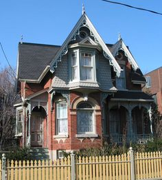 The Witch's House, 384 Sumach St., Cabbagetown Toronto 1866