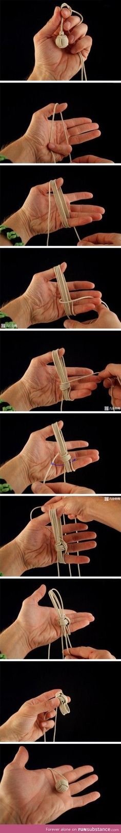 Diy chinese knot ball
