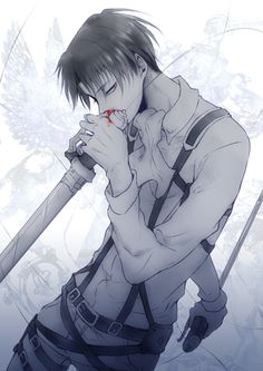 Levi Ackerman | Attack on Titan | Shingeki no Kyojin | ♤ Anime ♤