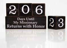 mormon missionary countdown calendar | MISSIONARY COUNTDOWN BLOCKS