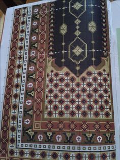 Cross Stitch Embroidery, Cross Stitch Patterns, Stitch 2, Diy Projects To Try, Needlepoint, Bohemian Rug, Diy And Crafts, Crochet, Caftans