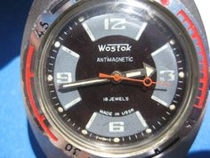 KOMANDIRSKIE VOSTOK ANTIMAGNETIC AMPHIBIAN 200m USSR SOVIET RUSSIAN WATCH #AMPHIBIA