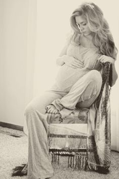 Most beautiful maternity photo I've ever seen;)