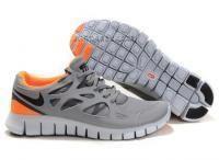 http://www.jordan2u.com/nike-free-run-2-waterproof-womens-shoes-grey-orange.html Only$49.00 #NIKE FREE RUN+ 2 WATERPROOF WOMENS #SHOES GREY ORANGE Free Shipping!